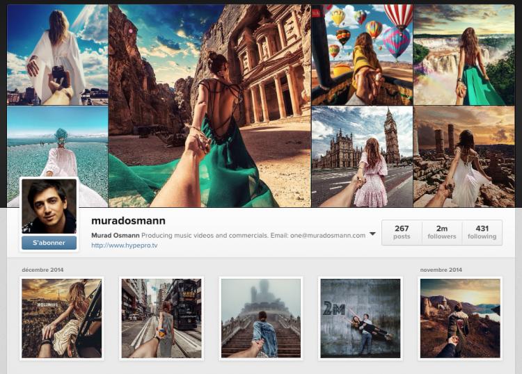 Murad Osmann instagram